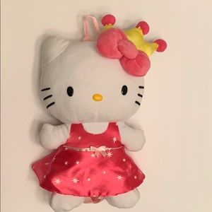 Plush Princess Hello Kitty Toddler back pack.